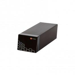 KNR-200 NVR 8 Cámaras IP 2 bahías