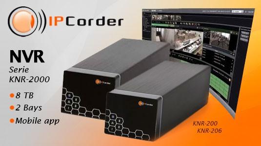 IPCorder NVR - Serie KNR 2000